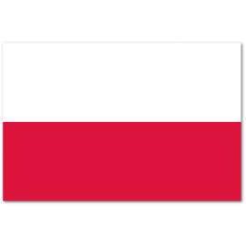 Ozdoba na wędkę flaga Polski