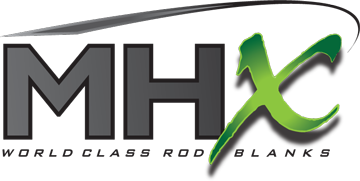 MHX Rod Blanks Logo